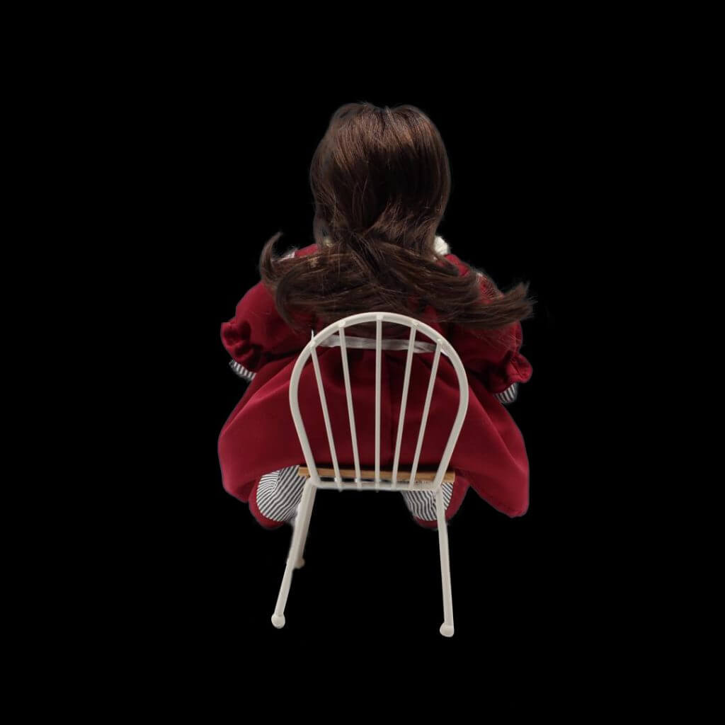 Lily Doll on Chair