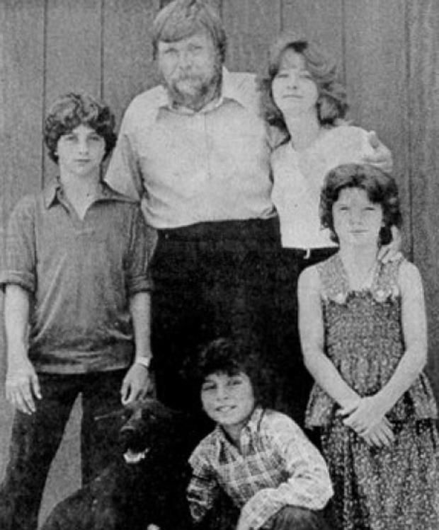 Lutz family from the haunted Amityville house