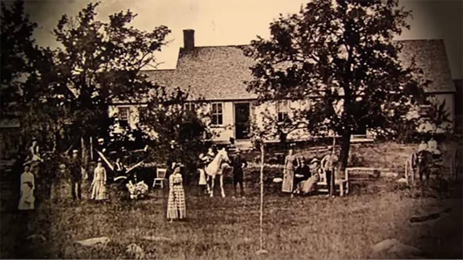 Perron family haunted farmhouse