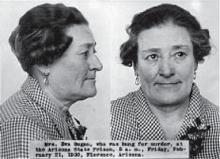 Famous Axe Murders: Axe murderer Eva Dugan hanged for killing Andrew Mathis