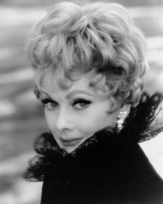 Lucille Ball who now haunts her old Hollywood property