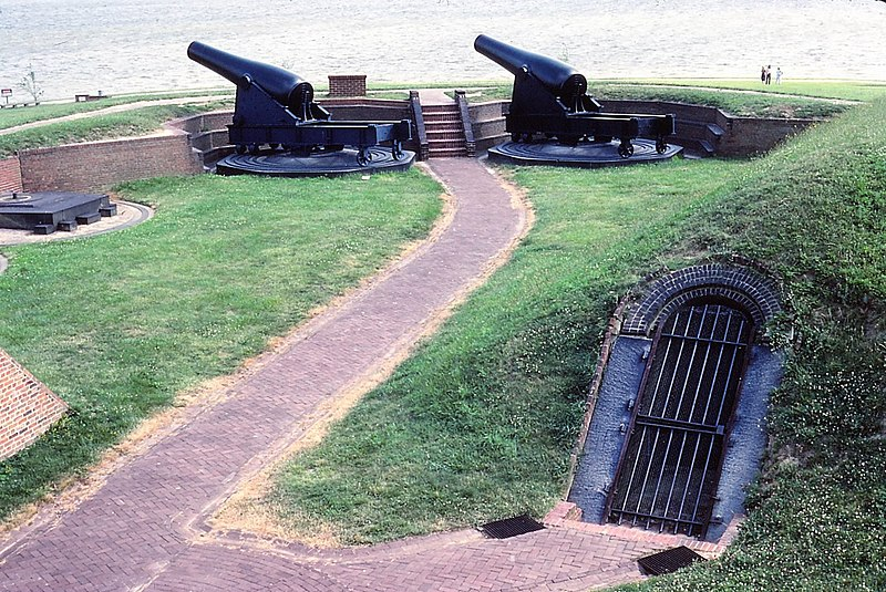 top 10 most haunted places in Baltimore-Fort McHenry