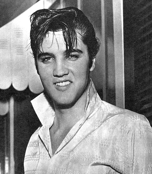 Elvis Presley who haunts Graceland where he lived and died