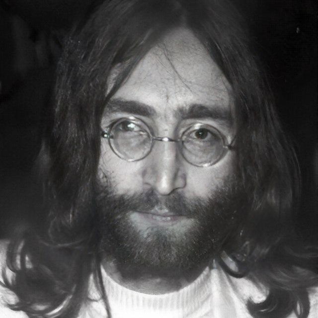 John Lennon who now haunts the Dakota in NYC where he lived and died