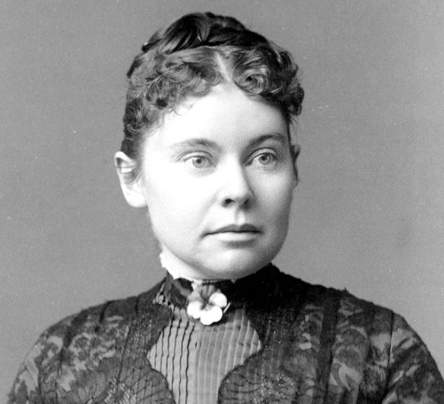 Famed alleged axe murderer that haunts the Lizzie Borden House and Maplecroft Mansion today