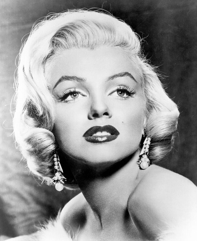 Marilyn Monroe before she died. She is said to haunt her Hollywood hotspots