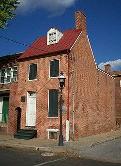 Haunted Edgar Allan Poe House in Baltimore