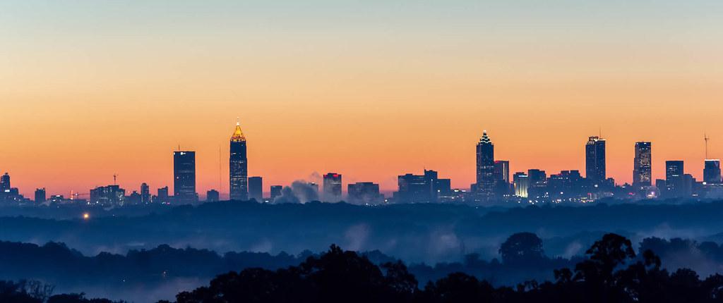 Haunte places of Atlanta-Eerie skyline