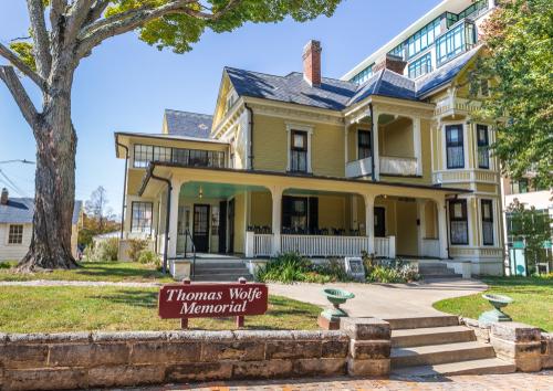 Haunted Thomas Wolfe Memorial